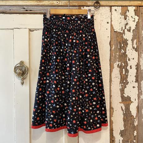 EURO vintage 小花柄チロルスカート[2103]