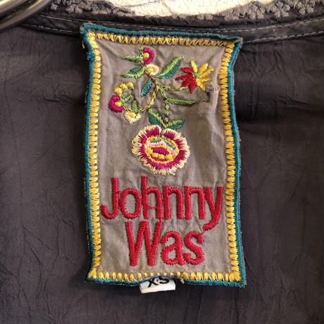 """Johnny was"" レースデザイン レーヨン チュニック [7737]"