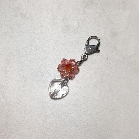 水晶、スワロフスキー マスクチャーム No.77477