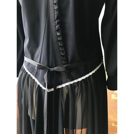 【数量限定】姫ドレスジャージ / ブラック 《復刻版!》