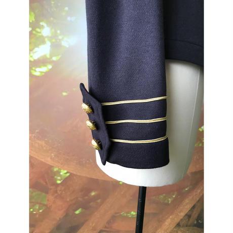 【数量限定】カラフリーナポレオンジャケット / ブラック