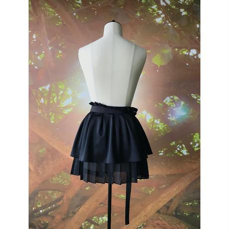 【数量限定】プリーツスカートパーツ / ブラック