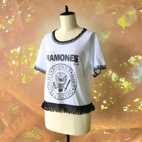 zechia MAKEOVER☆古着風ROCK-T / RAMONES ②