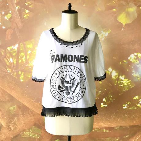 zechia MAKEOVER☆古着風ROCK-T / RAMONES ③