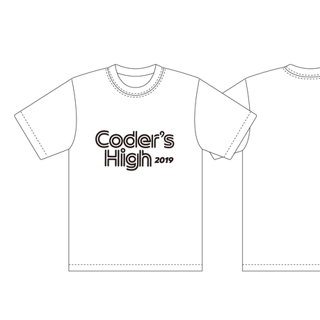 CSS Nite LP64「Coder's High 2019」イベントTシャツ