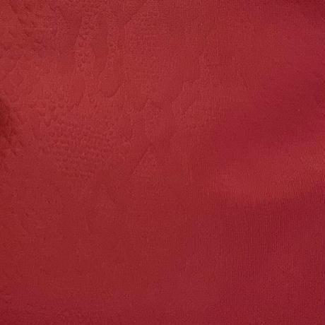 身体にやさしいリュックサック  (Sサイズ) パイソン柄型押し スカーレットレッド