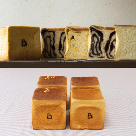 バラエティパン4斤セット【あんこ・チーズ・チョコ含む】