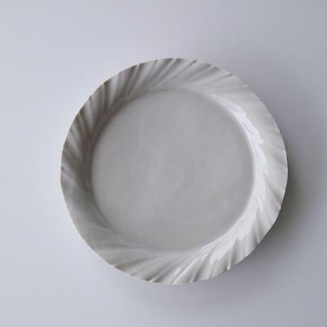 阿部慎太朗   プリーツ皿  6寸