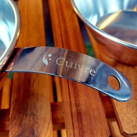 Cuivre Copper SierraCup - classic - 500 レザーハンドルカバーセット