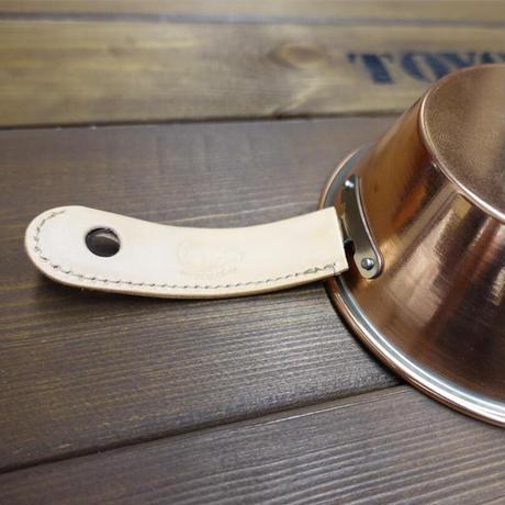 【単品】Copper Sierra Cup 500サイズ用 レザーハンドルカバー SleepingSheepコラボアイテム