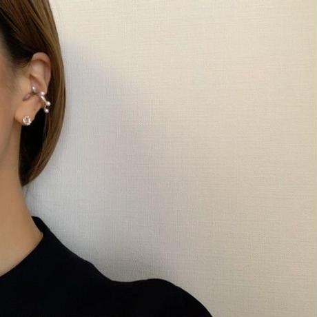 pearly ear cuff