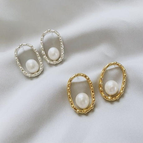 oval with pearl