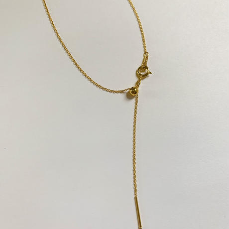 Initial necklace - short -