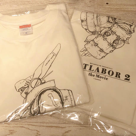【機動警察パトレイバー2 the Movie】4DX上映記念 Tシャツ イングラム(ホワイト)