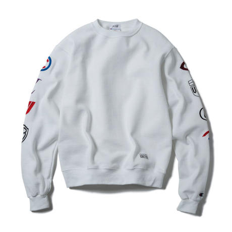 CORPORATED CREWNECK(WHITE)【CC17AW-024】