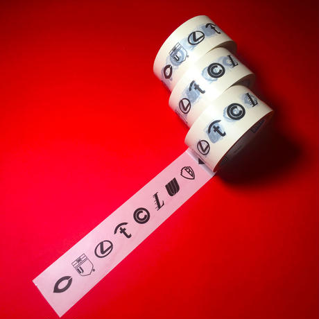 CULTCLUB CORPORATED PACKING TAPE 【CC001】