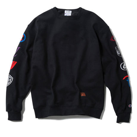 CORPORATED CREWNECK(BLACK)【CC17AW-024】