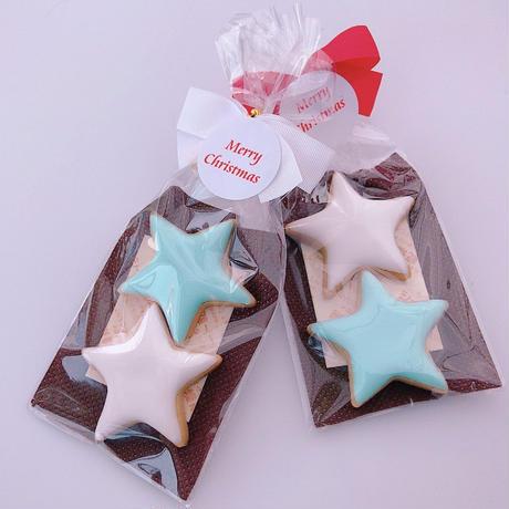 ほし型 クッキー(2枚)