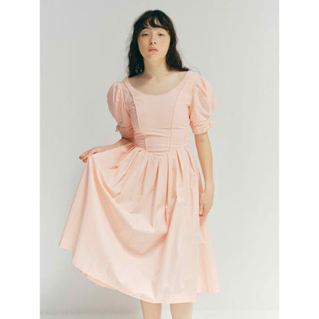 D840 - Laura Ashley bustle dress