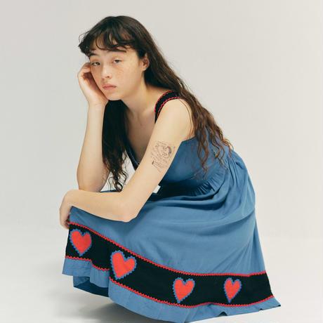D845 - 1940s heart rick dress