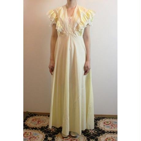 Vintage Yellow Nighty