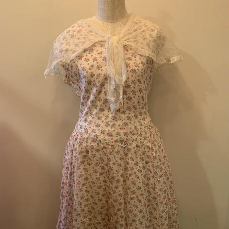 Antique costume dress