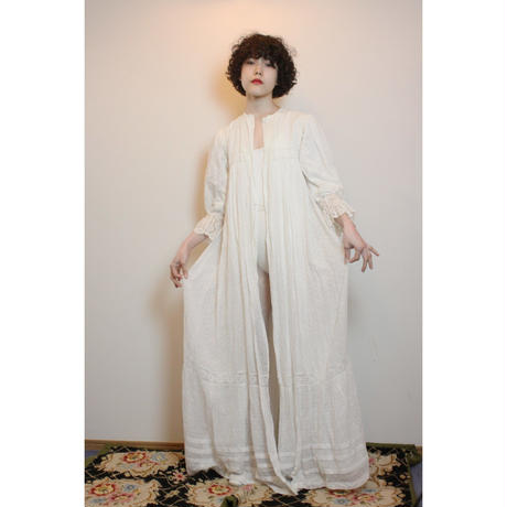 Antique cotton gown