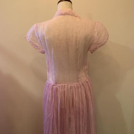 1930s organdy dress