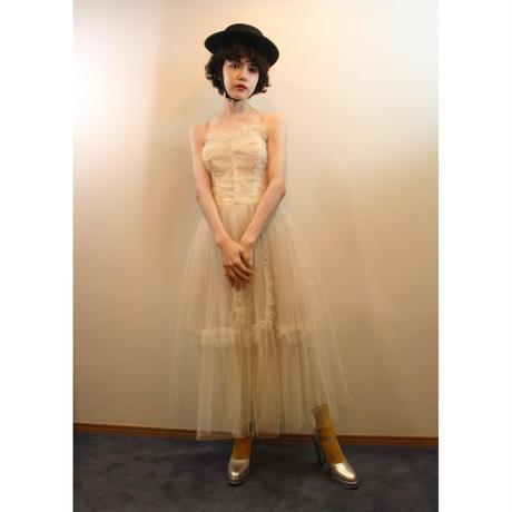dreamy dot tulle dress