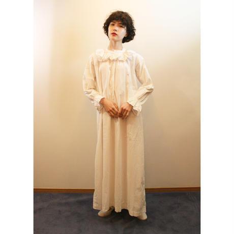 Antique cotton night gown