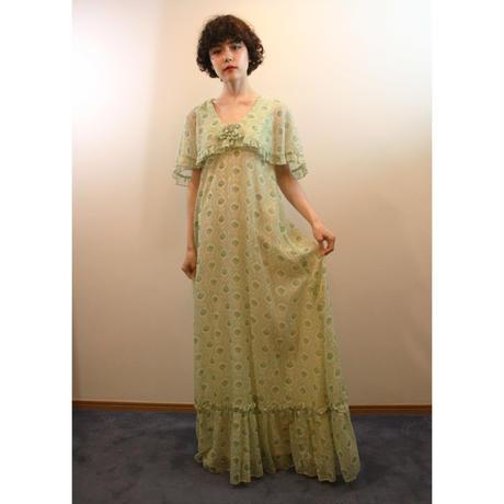 1970s green dress