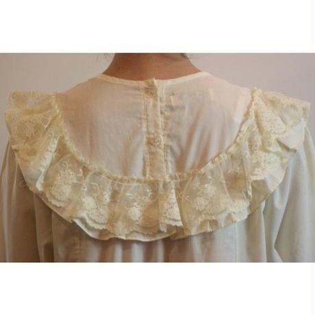 1970s Cream Nighty