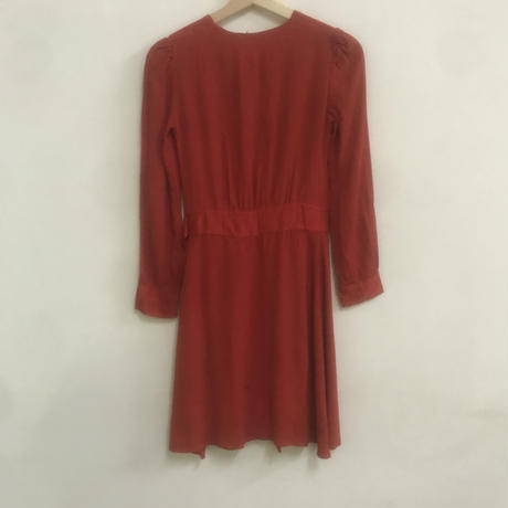 French antique wrap dress