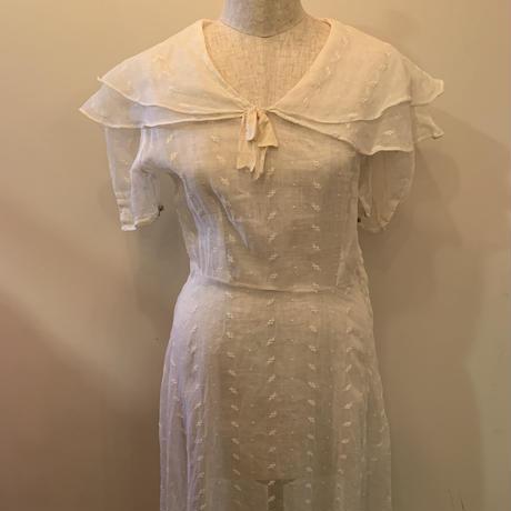 Antique sailor dress