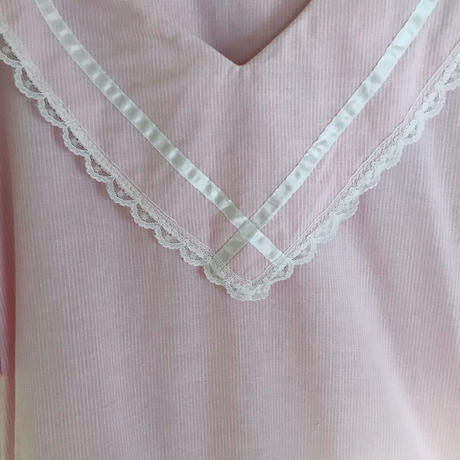 pink cotton sailor dress