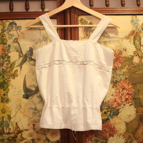 Antique cotton cami top