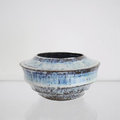 黒荒白萩釉鉢 - 大貫弘由岐