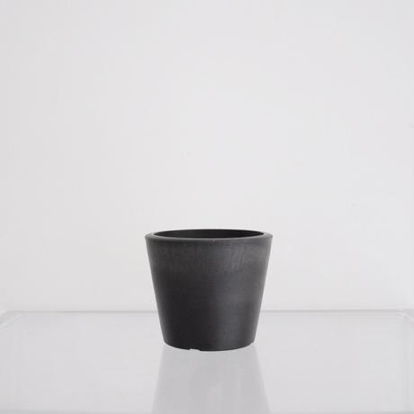 plastic pot XS / Black