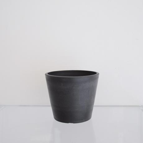 plastic pot S / Black