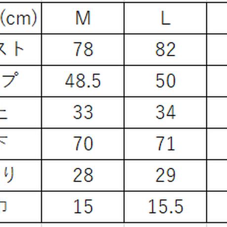 """【数量限定商品】NCW DENIM SKINNY """"サルエル"""" PANTS"""