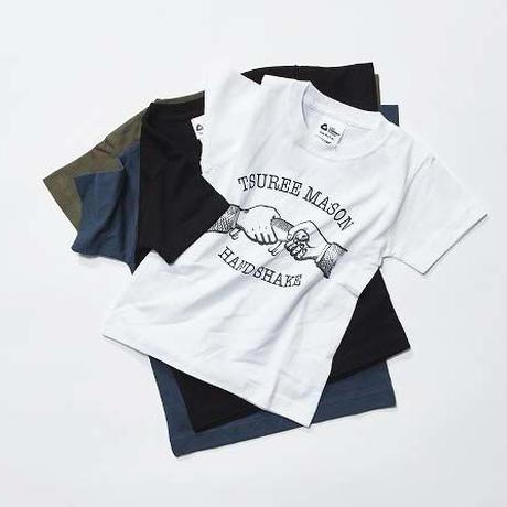 TSUREE MASON HANDSHAKE キッズTシャツ