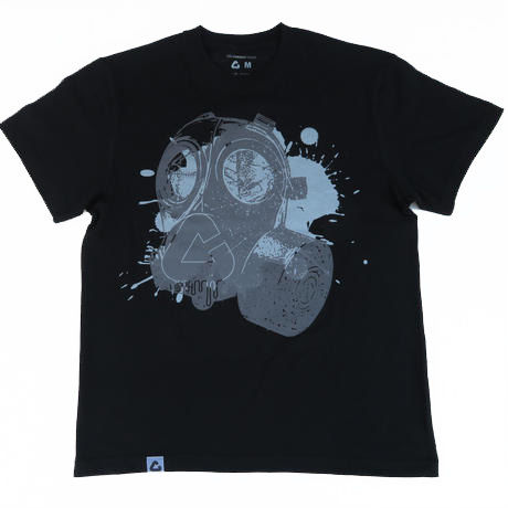 GASMASK T-Shirt【BLACK】
