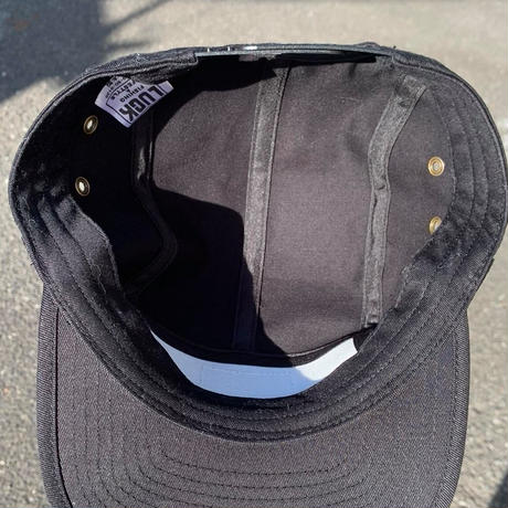 LUCK×NCW glass porter jet cap