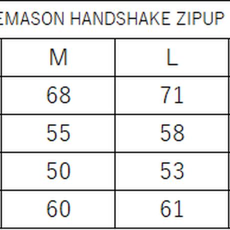 TSUREEMASON HANDSHAKE ZIPUP HOODIE