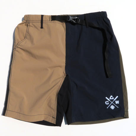 WILD FINS×NEW CURRENT WORKS MOVING SHORT PANTS
