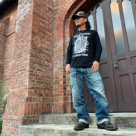 """YOUTH ANTHEM×NEW CURRNET WORKS """"SQUID"""" LONG-T"""