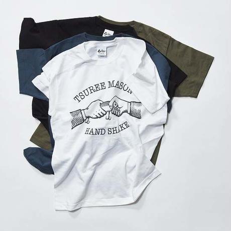 TSUREE MASON HANDSHAKE Tシャツ