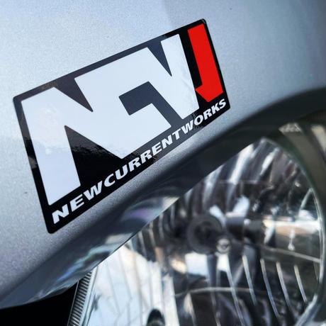 NCW MX sticker
