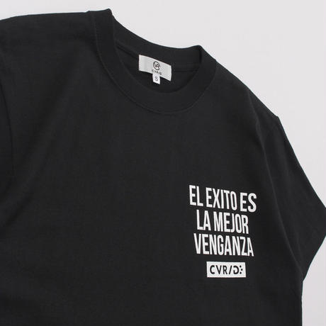 CVRIG SPANISH MESSAGE TEE BLACK