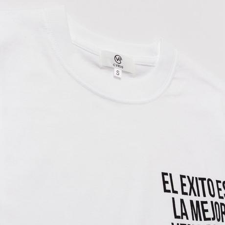 CVRIG SPANISH MESSAGE TEE WHITE